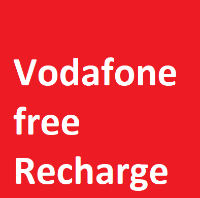 vodafone free recharge