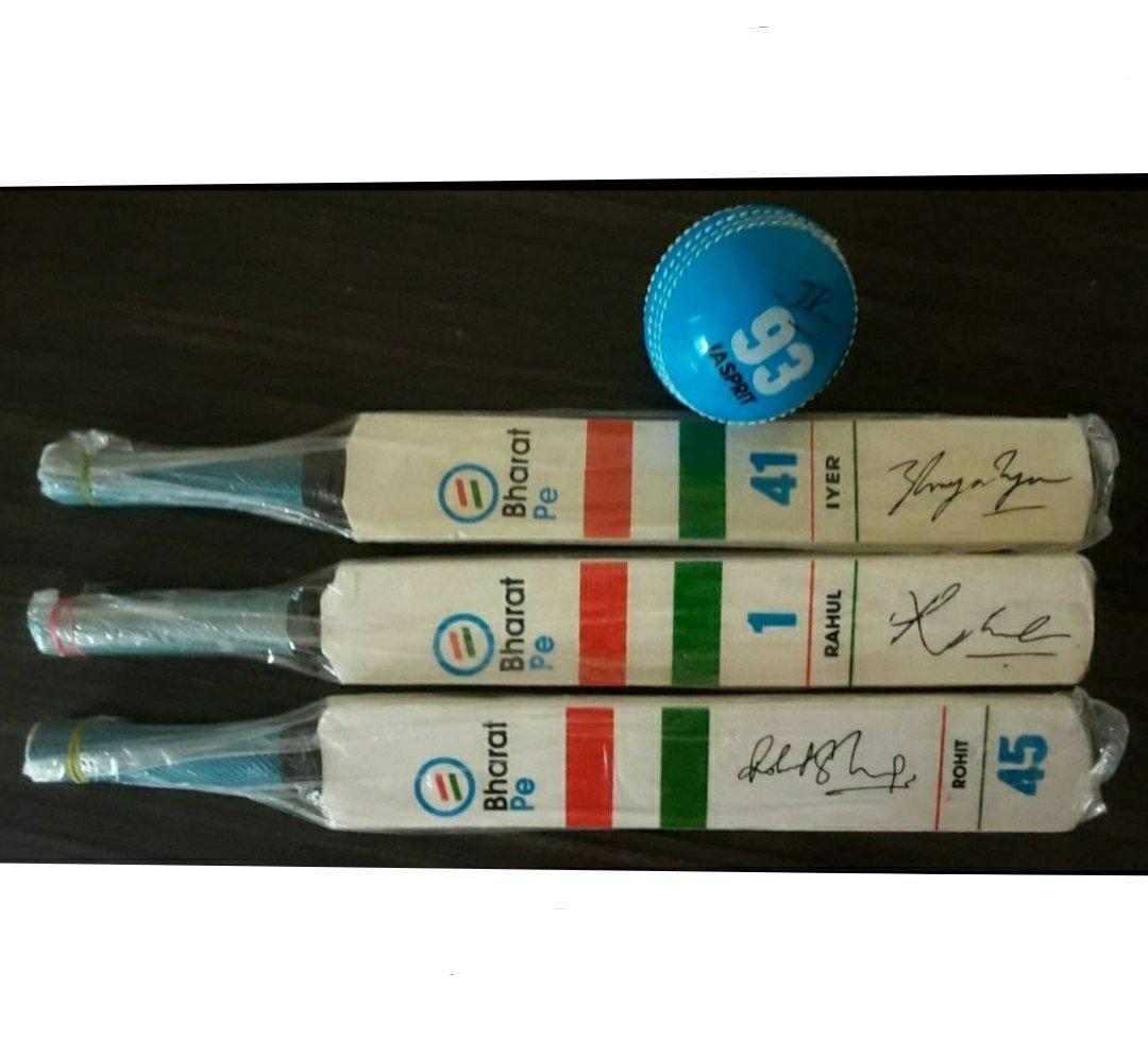[Loot Lo] BharatPe App - Refer Earn Cricket Bat, Ball, T-shirt etc